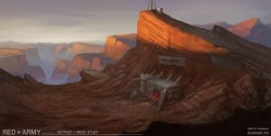 Red Army-outpost by DevBurmak