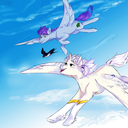 Glamis and Drizzle - ARTfight by Deltalix