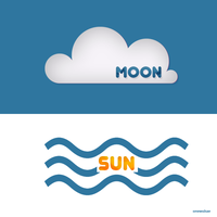 Moon x Sun, styles by AlejandraArely