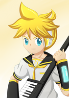 Len-kun different style by irzhie