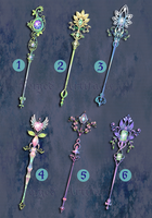 Weapon Adoption 08 Forest Gems collection CLOSED by Forged-Artifacts