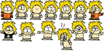 Hoodless Kenny Face Expressions and Poses by Waltman13