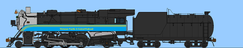VPCRR 4-6-2 Pacific by steamtheboxtank