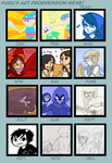 Art Progression Meme 2011 by raynalin