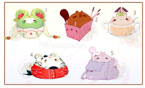 [CLOSED] ADOPT SET PRICE 222 - Jammy by Piffi-sisters