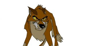 Very Angry Balto by BlackBlood100