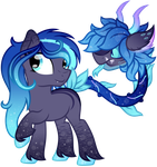 Sapphire And Pebble by Scourge707