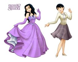 Snow White, Disney style! by Geminine-nyan
