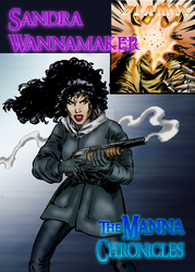 Sandra Wannamaker Vs The Lich by TMCCOMIC