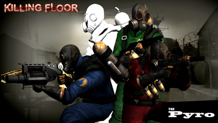 The Pyro Character Pack - Killing Floor by DMN666