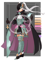 [Adopts] Fighter IX || CLOSED by skele-tea