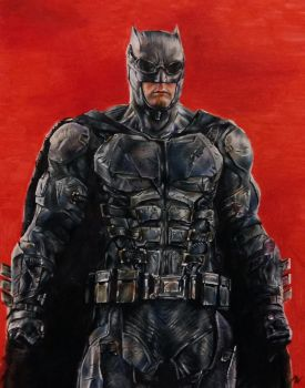 Batman Tactical Suit by MattWArt