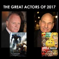 The Great Actors of 2017 by JMK-Prime