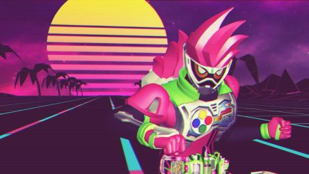[MMD KAMEN RIDER] Retro Rider by MIST-TO-GUN