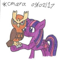 Twilight and Noctowl
