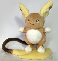 Alolan Raichu by HollyIvyDesigns