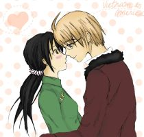 APH : Vietnam and America by Lineria