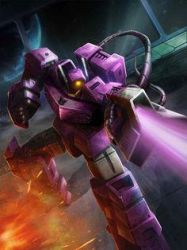 G1 Shockwave From Transformers Legends Game by DarthScholz