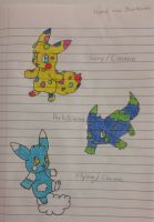 Pikachus! by TigerNightFury14