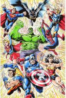 justice avengers by CharlesEttinger