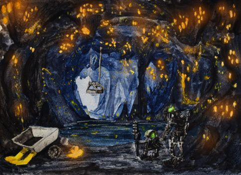 Artist's Tour of the Bionicle Universe: Onu-Koro by FedoraStories