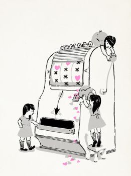Slot Machine of Love by cjungart