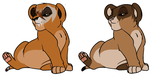 Cubs for BrightsideBreedables by nazow