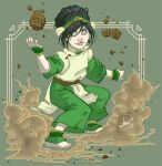 Toph as Nails by y2jenn