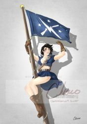 Amarie Fallout PinUp 2018 by charomiami