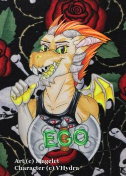 Ego Conbadge by Magelet