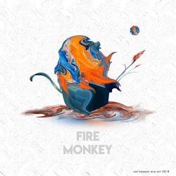 Fire Monkey by AVAdesign