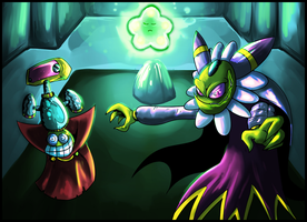 Cackletta and Fawful. by Anzhyra