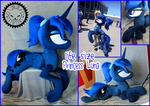 + Life Size Plush Princess Luna + by LionCubCreations