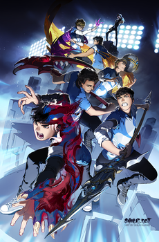 2017 Cloud 9 worlds poster by shilin