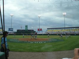 Warming Up at the CWS by HighNoteJunkie