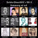 2013 Art Meme by Zelda-Chan202
