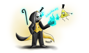 Inkcember 5 - Bill!Sans by Nabuco88