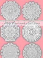 Circular Laces  Photoshop Brushes by Coby17