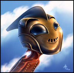 Cute Rocketeer by drewbrand