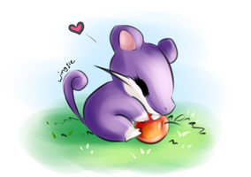 PKM - Rattata by Wingsie