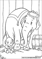 Dumbo and Mother by Writer-Colorer