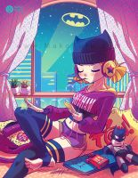.: Chillin' Batgirl :. by Mako-Fufu