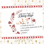 Texture Pack 14 - Daisy Days by HollywoodParty