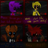 Five Nights At Freddy's!! by MidnightBlaze16
