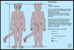 Charater sheet - John by Sinatzeek