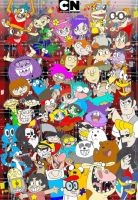 Cartoon Network 25 Years - A Legacy of Cartoonery by dudiho