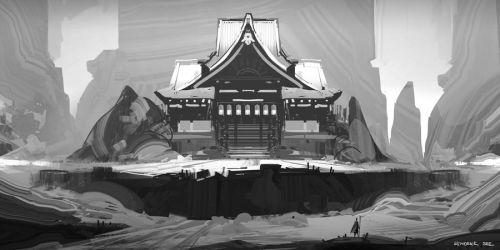 Oriental Temple by SourShade