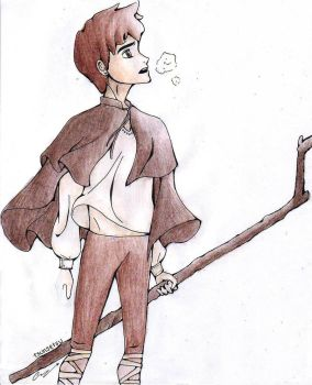 Jackson Overland Frost: Shades of Brown by tsunsetsu