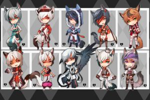 Big Batch (SET PRICE) - CLOSED by Melixion