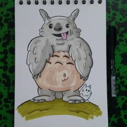 Totoro  by tomcollemare